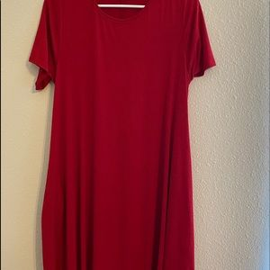 Swing dress with pockets